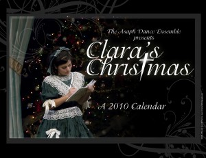 Clara's Christmas Calendar, $13 each
